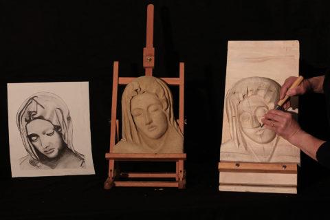 Intaglio su Legno e Scultura di Terracotta