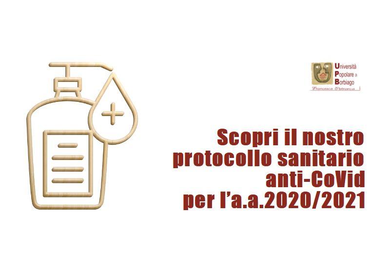 Università Popolare F. Petrarca di Borbiago - Mira (VE) - Protocollo Sanitario CoVid