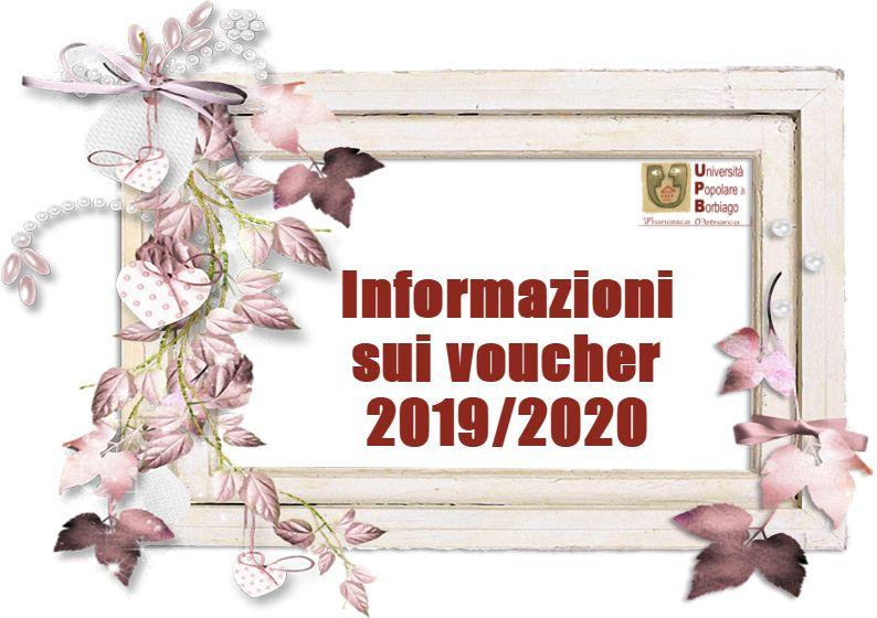 Università Popolare F. Petrarca di Borbiago - Mira (VE) - Avviso sui Voucher 2019/2020
