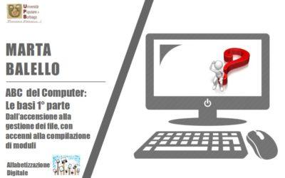 ABC DEL COMPUTER 1° parte: nuova proposta