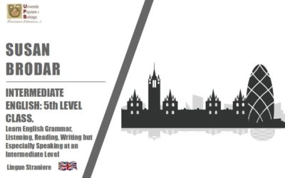 INTERMEDIATE ENGLISH: 5th LEVEL CLASS. Learn English Grammar, Listening, Reading, Writing but Especially Speaking at an Intermediate Level