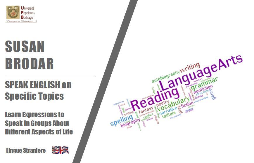 Brodar – speak english on specific topics
