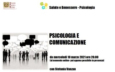 PSICOLOGIA E COMUNICAZIONE – proposta di marzo –