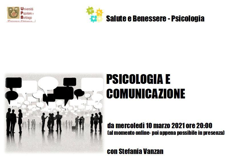 Università Popolare F. Petrarca di Borbiago - Mira (VE) - Psicologia e Comunicazione 2 proposta - facilitatore Stefania Vanzan