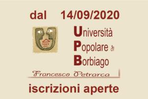 logo università popolare di Borbiago – iscrizioni aperte