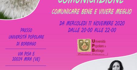Corso di Psicologia e Comunicazione – Università Popolare F. Petrarca di Borbiago di Mira