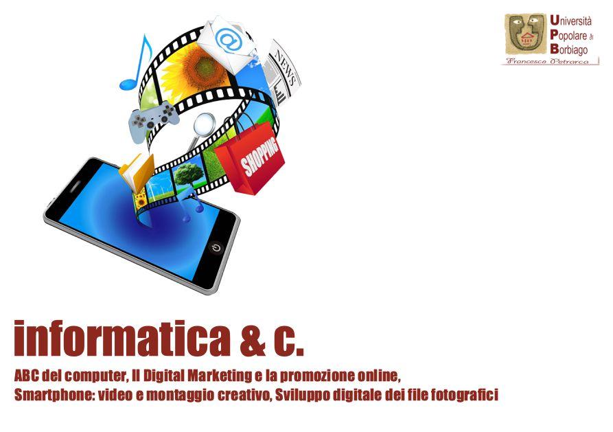 Università Popolare F. Petrarca di Borbiago - Mira (VE) - corsi e laboratori dell'area informatica