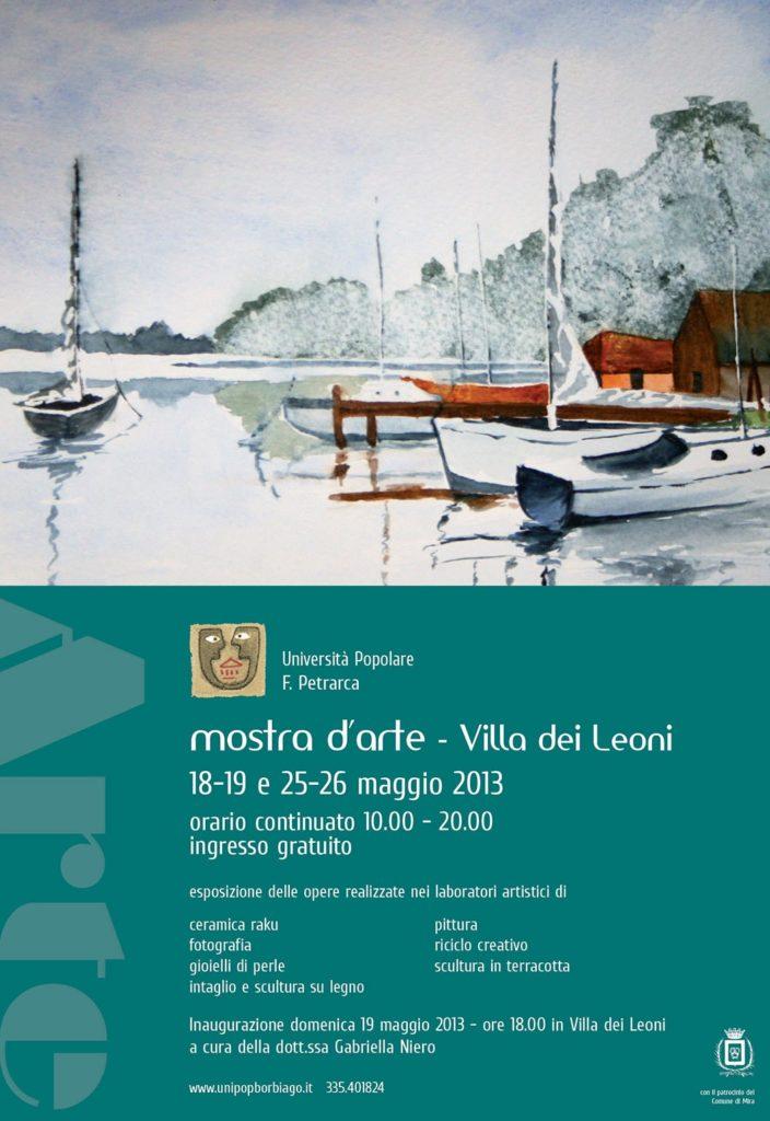 Università Popolare F. Petrarca di Borbiago - Mira (VE) - Mostra Laboratori Artistici
