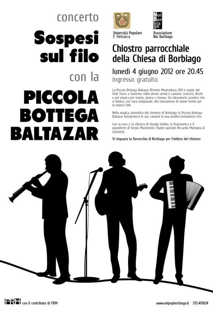 Università Popolare F. Petrarca di Borbiago - Mira (VE) - Concerto con la Piccola Bottega Baltazar
