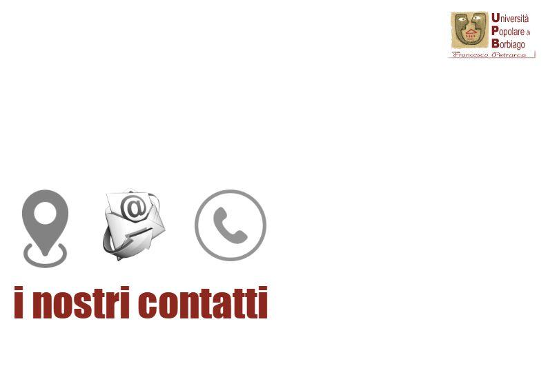 Università Popolare F. Petrarca di Borbiago - Mira (VE) - sede email cellulare contatti