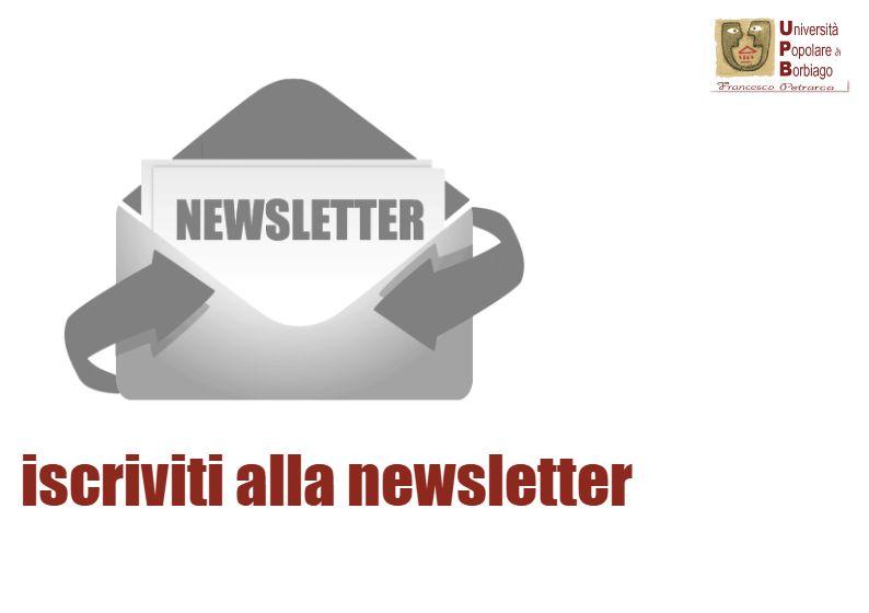 Università Popolare F. Petrarca di Borbiago - Mira (VE) - iscriviti alla newsletter