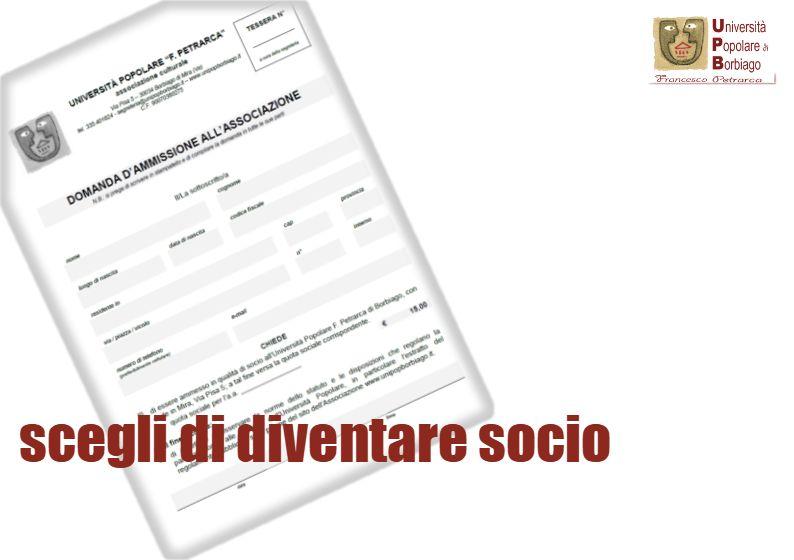 Università Popolare F. Petrarca di Borbiago - Mira (VE) - scegli di diventare socio
