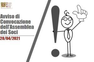 2021_04_28 Convocazione Assmblea Soci