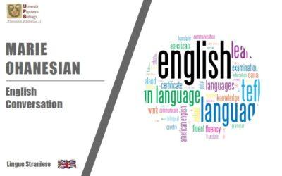 ENGLISH CONVERSATION -1° proposta-