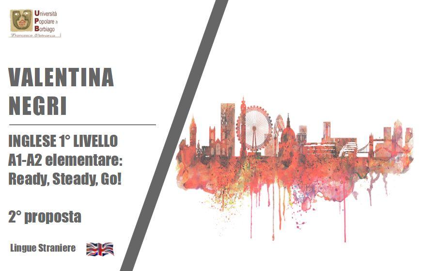 Negri Valentina – inglese 1 livello