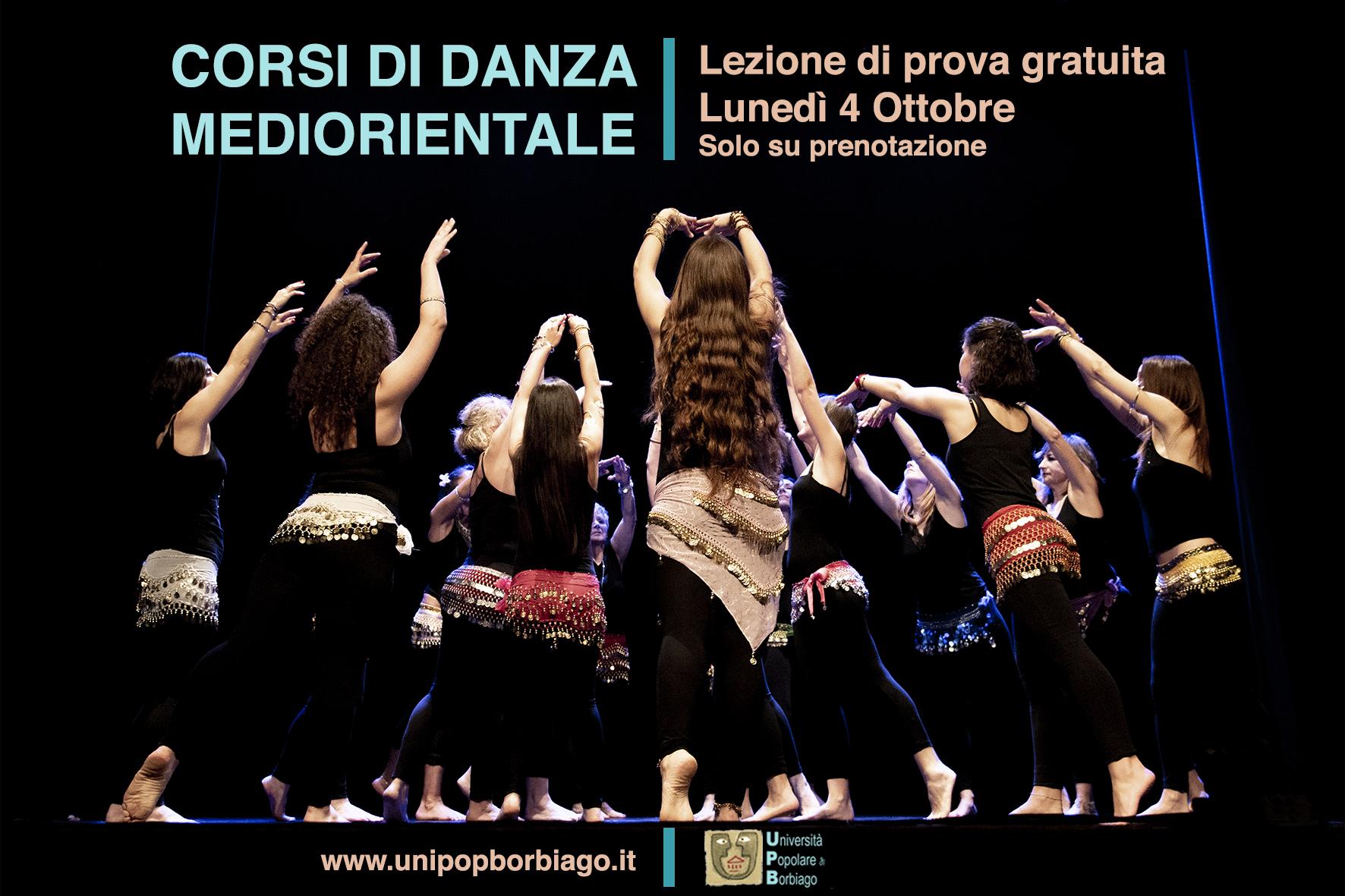 Università Popolare F. Petrarca di Borbiago - Mira, Lezione di Prova del corso di Danza Mediorientale, con Marta Speronello
